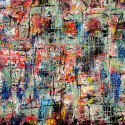#1012 abstract acrylic