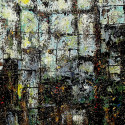#1032 Abstract acrylic painting